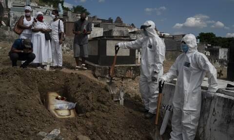 Κορονοϊός στη Βραζιλία: 46.510 οι νεκροί - Κοντά στο 1 εκατομμύριο τα κρούσματα