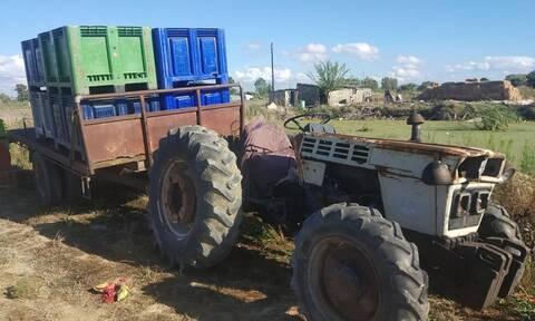 Τραγωδία στη Μανωλάδα: Νεκρός αγρότης σε φρικτό δυστύχημα με το τρακτέρ