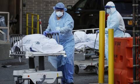 Κορονοϊός: Λιγότεροι από 700 νέοι θάνατοι αλλά και έξαρση των κρουσμάτων στις ΗΠΑ