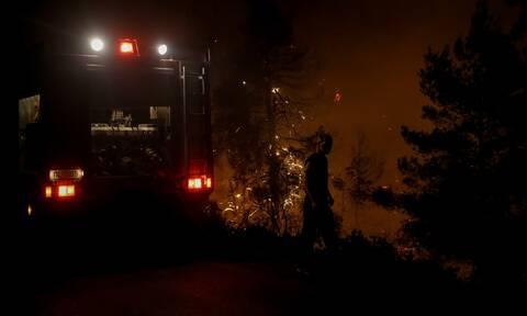 Φωτιά Μαρτίνο: Δεκάδες διάσπαρτες εστίες - Σε επιφυλακή η Πυροσβεστική