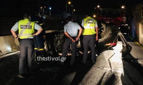 Θεσσαλονίκη: Σοβαρό τροχαίο στα Κουφάλια– 5 τραυματίες εκ των οποίων 2 παιδιά