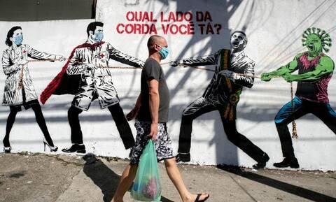 Κορονοϊός – Βραζιλία: Πάνω από 1.000.000 κρούσματα – Σχεδόν 50.000 οι θάνατοι