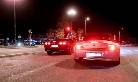 Κόντρες στην Παραλιακή: Kαρέ - καρέ η καταδίωξη από αστυνομικούς