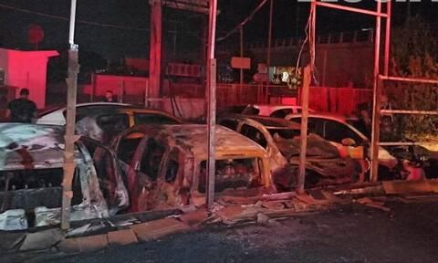 Μεγάλη φωτιά στο Ηράκλειο: Καταστροφές σε επιχείρηση (pics)