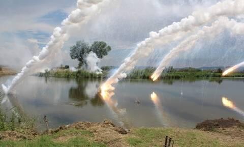 Μήνυμα ισχύος στον Έβρο: Άσκηση στον ποταμό, παρουσία Αρχηγού ΓΕΣ