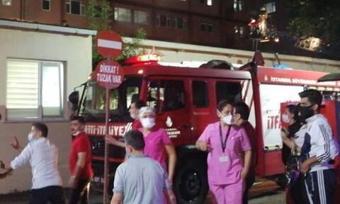 Κωνσταντινούπολη: Φωτιά σε νοσοκομείο - Πληροφορίες για εγκλωβισμένους