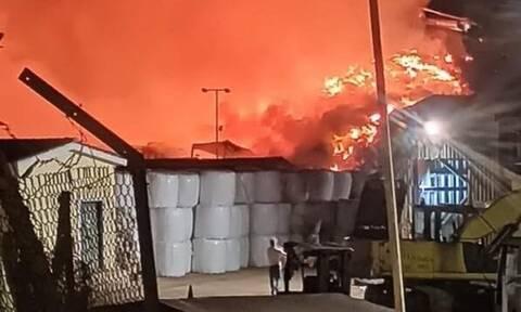 Φωτιά στον ΧΥΤΑ Τεμπλονίου στην Κέρκυρα (pics)