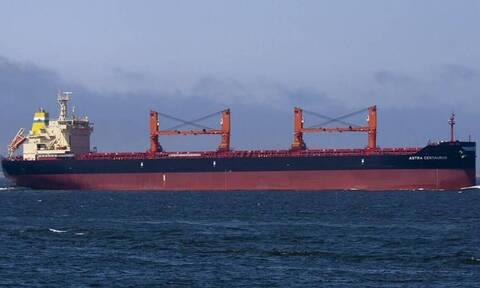 Προσάραξη φορτηγού πλοίου στους Καλούς Λιμένες