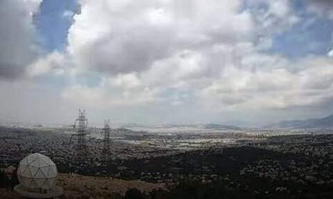 Καιρός: Εντυπωσιακό βίντεο - Οι καταιγίδες που σάρωσαν την Αθήνα