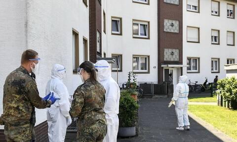 Κορονοϊός Γερμανία: Σε καραντίνα 200 ένοικοι κτηριακού συγκροτήματος