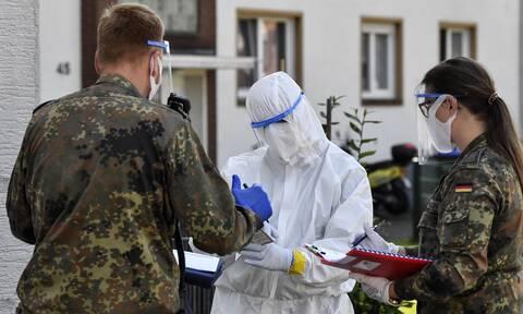 Κορονοϊός:  «Εμφύλιος» στη Γερμανία για τα τοπικά lockdown