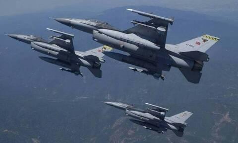 Συναγερμός στο Αιγαίο: Τουρκικά μαχητικά πάνω από Χίο και Οινούσσες
