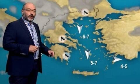 Καιρός: Η προειδοποίηση του Σάκη Αρναούτογλου για την άνοδο της θερμοκρασίας