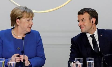 Συνάντηση Μέρκελ - Μακρόν: Τι θα συζητήσουν