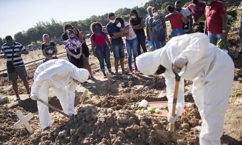 Κορονοϊός στη Βραζιλία: 1.185 θάνατοι από COVID-19 σε 24 ώρες