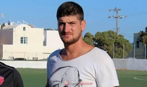 Νεκρός ο ποδοσφαιριστής Παναγιώτης Σκαφτούρος σε φρικτό τροχαίο
