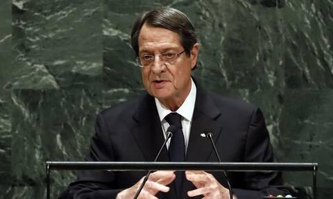 Αναστασιάδης: Αν χρησιμοποιήσουμε τα όπλα θα είναι το τέλος του Κυπριακού Ελληνισμού