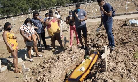 Κορονοϊός στη Βραζιλία: 1.141 θάνατοι και 39.483 νέα κρούσματα σε 24 ώρες
