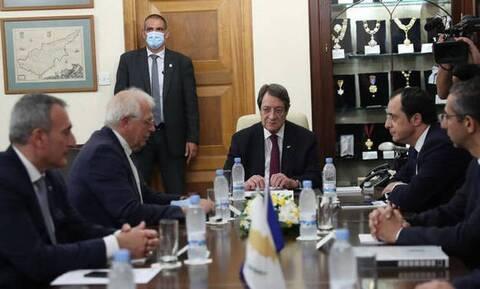 Μπορέλ: Οι ανησυχίες της Κύπρου είναι και ανησυχίες της ΕΕ