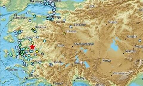 Ισχυρός σεισμός στην Τουρκία - Αισθητός σε ελληνικά νησιά