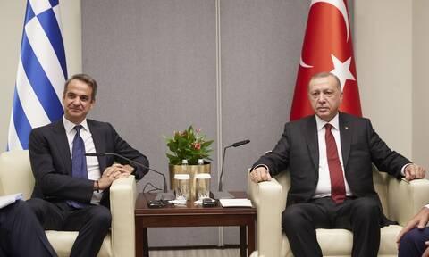 Τηλεφωνική επικοινωνία Μητσοτάκη - Ερντογάν - Τι συζήτησαν