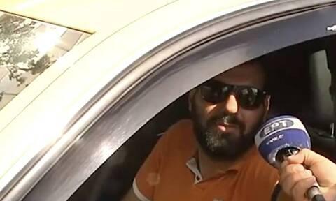 Απάντηση-έπος ταξιτζή στο Σύνταγμα: «Είμαστε παράνομοι» (video)