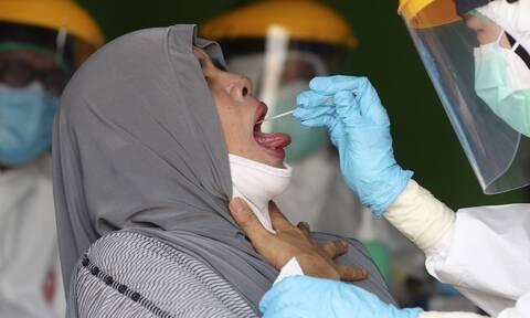 Ινδονησία: Την μεγαλύτερη αύξηση κρουσμάτων κορονοϊού κατέγραψε η χώρα