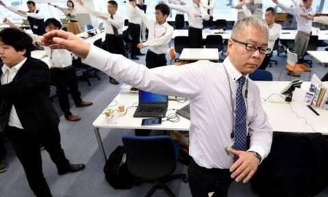 Οι Ιάπωνες κάνουν αυτή την άσκηση από το 1920 - Δείτε γιατί! (video)
