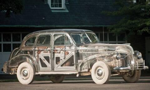 Το διάφανο αυτοκίνητο χρονολογείται από το 1939
