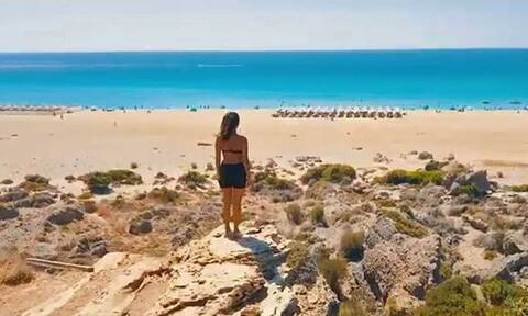 Η βιντεάρα που μας «ταξιδεύει» στα εντυπωσιακότερα τοπία της Κρήτης