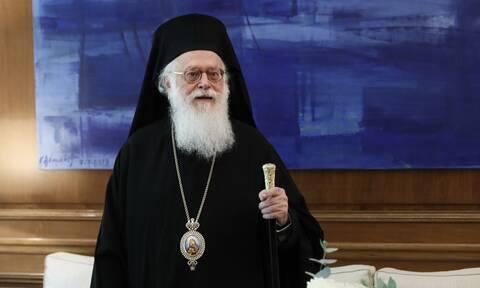 Περιπέτεια με την υγεία του αντιμετώπισε ο αρχιεπίσκοπος Αλβανίας Αναστάσιος
