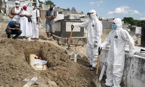 Κορονοϊός στη Βραζιλία: 552 νέοι θάνατοι και 30.476 κρούσματα σε 24 ώρες