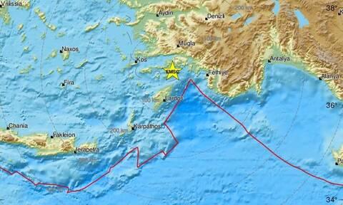 Σεισμός: Νέα σεισμική δόνηση στη Ρόδο (pics)