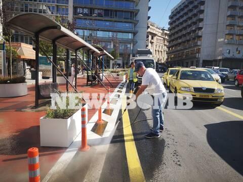 Ρεπορτάζ Newsbomb.gr - Μεγάλος Περίπατος: Η νέα εικόνα της πλατείας Συντάγματος