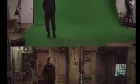 Πώς βλέπουμε και πώς είναι στην πραγματικότητα τα γυρίσματα μιας ταινίας