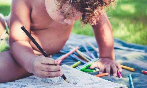 Πώς θα ζωγραφίσουν εύκολα τα παιδιά (vid)