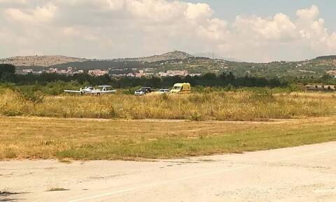 Συναγερμός στην Κοζάνη: Ατύχημα με εκπαιδευτικό αεροσκάφος (pics)