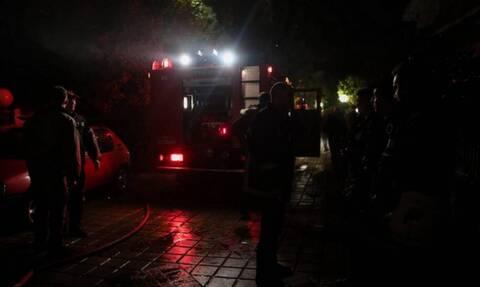 Υπό μερικό έλεγχο η φωτιά στην Αίγινα (pics+vid)