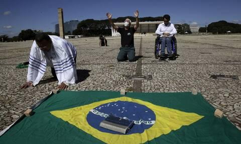 Κορονοϊός στη Βραζιλία: 692 νέοι θάνατοι και 24.052 κρούσματα σε 24 ώρες