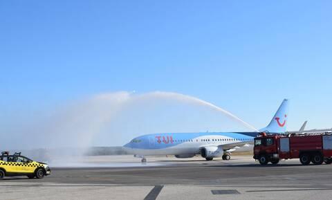 Κορονοϊός: Στην Κω η πρώτη πτήση εξωτερικού σε ελληνικό περιφερειακό αεροδρόμιο