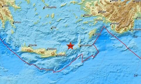 Σεισμός ΤΩΡΑ: Νέα διπλή σεισμική δόνηση στην Κάσο (pics)