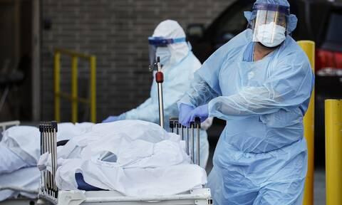 Κορονοϊός στις ΗΠΑ: 42.000 επιβεβαιωμένα κρούσματα και 355 θάνατοι σε 24 ώρες