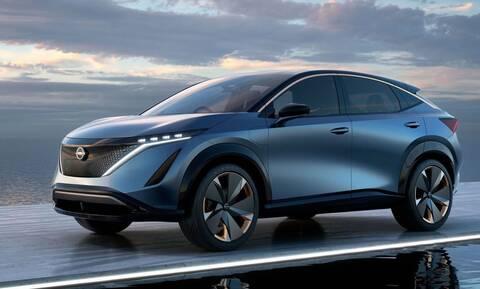 To νέο ηλεκτρικό Nissan Ariya θα έρθει και στην Ευρώπη