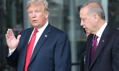 CNN: Ο Ερντογάν τηλεφωνούσε στον Τραμπ τουλάχιστον δύο φορές την εβδομάδα