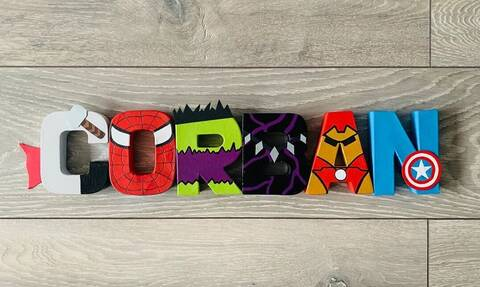 DIY ιδέες διακόσμησης με γράμματα για το παιδικό δωμάτιο (vid)