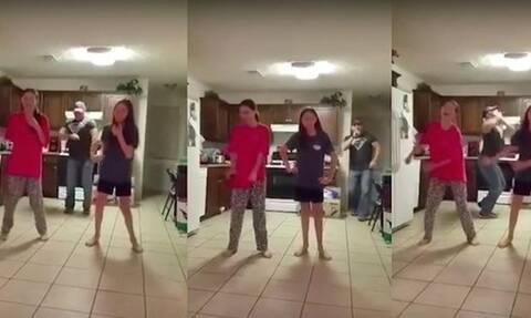 Μπαμπάς τρολάρει τις κόρες του και γίνεται viral (vid)