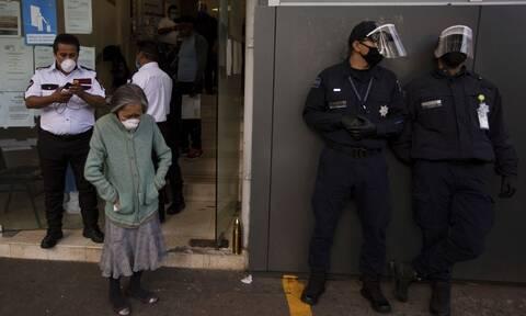 Κορονοϊός στο Μεξικό: 648 νέοι θάνατοι και 5.432 κρούσματα σε 24 ώρες