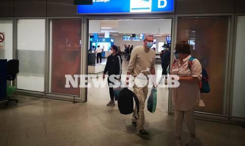 Ρεπορτάζ Newsbomb.gr στο «Ελ. Βενιζέλος»: «Ήρθαμε σε μία ασφαλή χώρα»