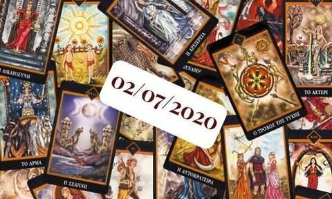 Η ημερήσια πρόβλεψη Ταρώ για 02/07!