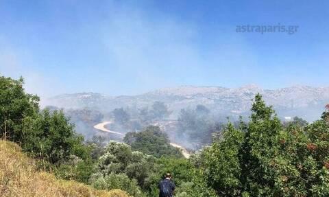 На Хиосе из-за пожара эвакуируют жителей трех поселков